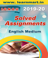 ECO-14 Solved Assignment ENGLISH Medium 2019-20 (Soft Copy)