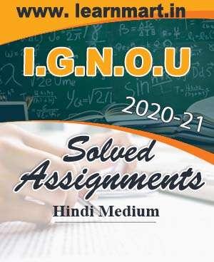 BZYCT-131 Solved Assignment Hindi Medium 2020-21 (Soft Copy)
